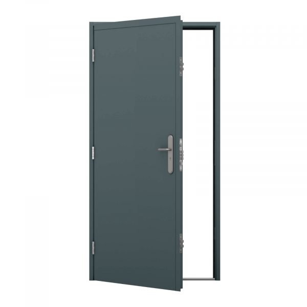 Security container door - Left hinged opening out