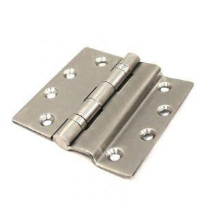 Steel door hinge