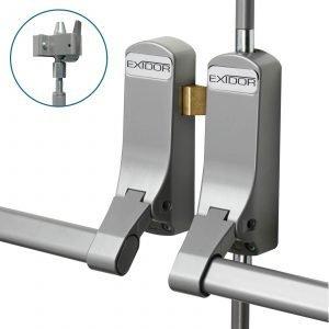 Exidor 285a adjustable double door panic bar