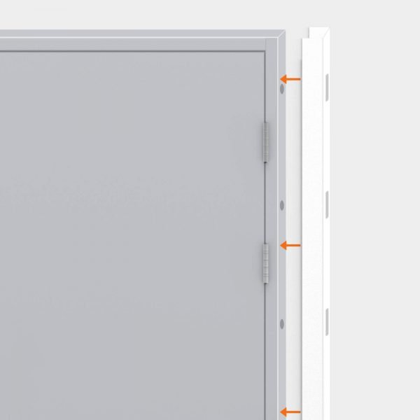 Expandable side panels for Latham's doors